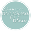 featured on borrowed & blue - A Ribbon's Nest - Hand Dyed Silk Ribbons and Styling Textiles