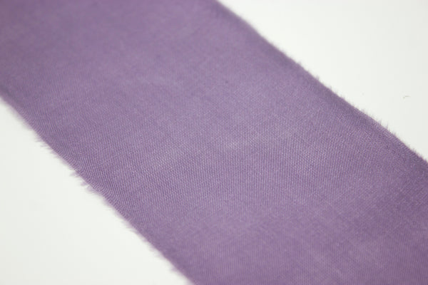 feathered edge purple silk ribbon | A Ribbon's Nest