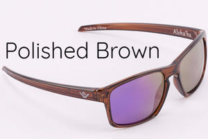 Purple Mirror Lens Aloha'ha Shades - Miliani Eyeware