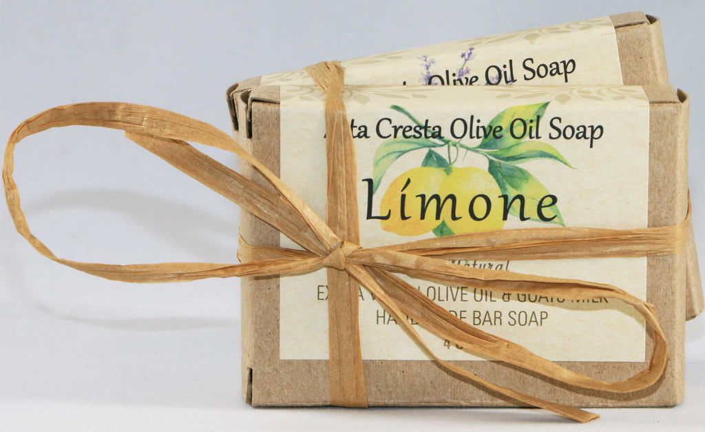 Olive Oil Soap Combo Pack - 2 Bars (1 Lemon & 1 Lavender)