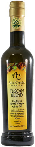2019 Tuscan Blend Extra Virgin Olive Oil (Polyphenols 340 mg/kg*)