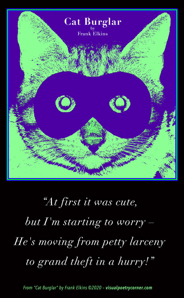 "FREE ""Cat Burglar"" Image & Quote!"