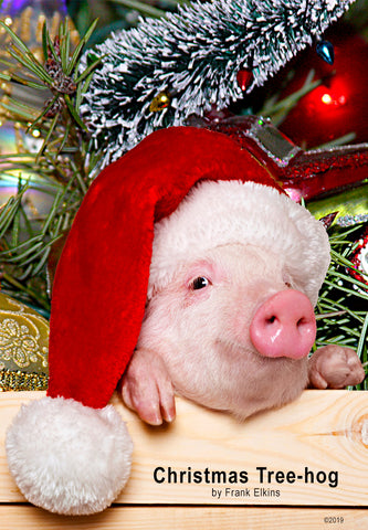 "NEW! ""Christmas Tree-hog"""