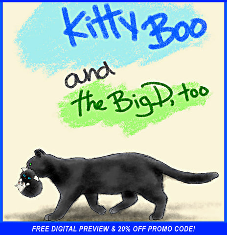 FREE KITTY-BOO DIGITAL PREVIEW & 20% OFF PROMO CODE!
