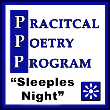 "Practical Poetry Program: ""Sleepless Night"" (Single PDF Lesson Plan)"