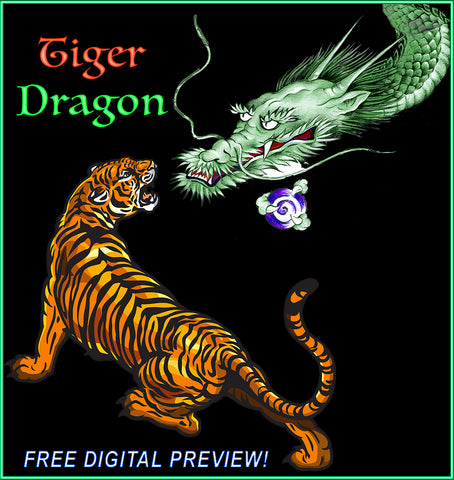 "FREE ""TIGER DRAGON"" PREVIEW (Digital Download)"