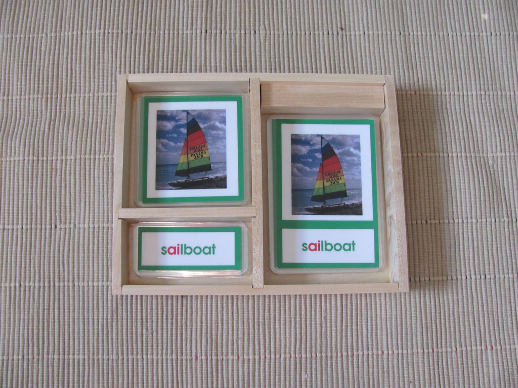 Early Childhood Phonogram~3 part cards