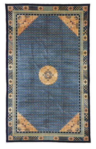 A CHINESE PEKING CARPET China dimensions approximately 17ft 10in x 10ft 11in (543 x 333cm) US$ 5,000 - 7,000