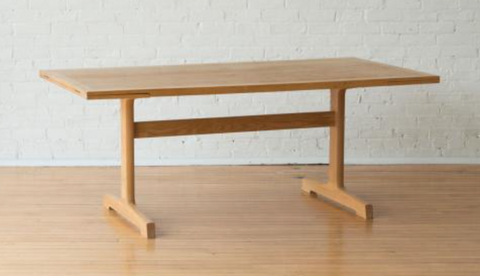Elm Trestle Table