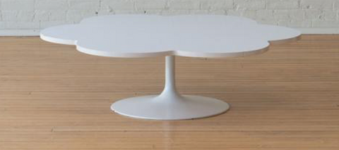 Who Liang Artifor Le Cloud White Laminate Low Table