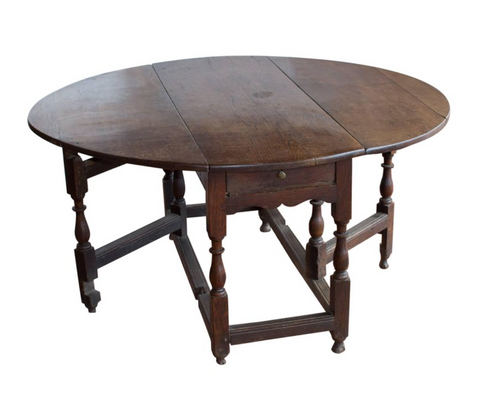 17th Century Gate Leg Table