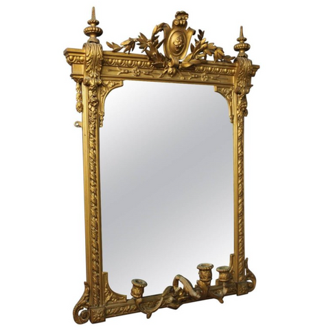 Ornate Gilt Mirror