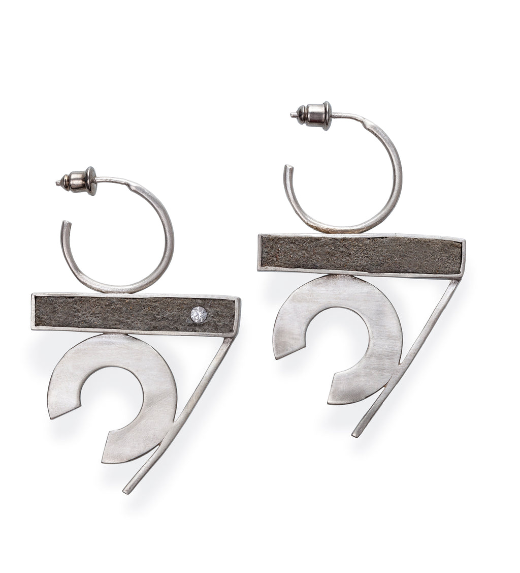 Asynchronous/ Iconic Earrings
