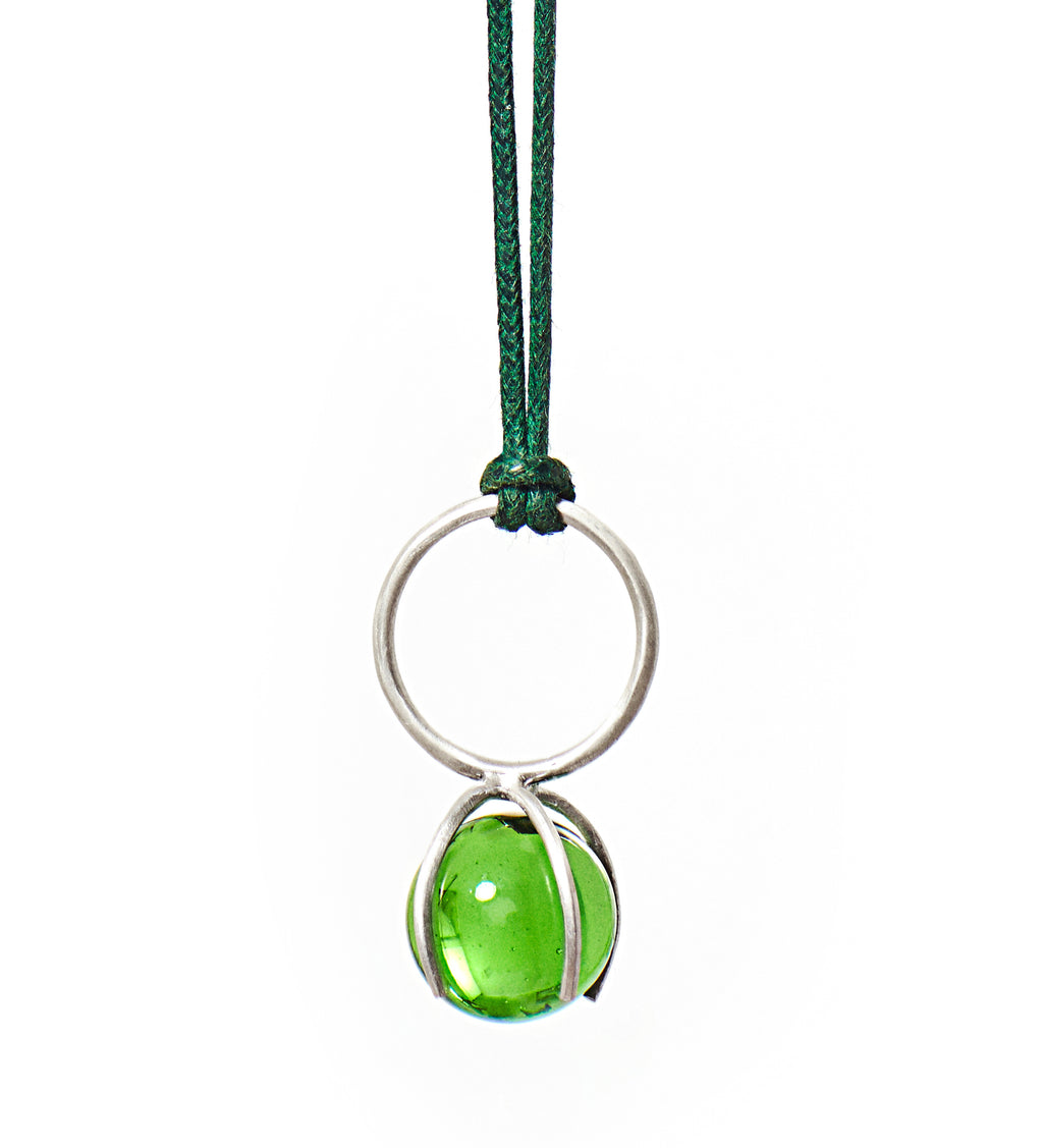 Invisible Green Necklace