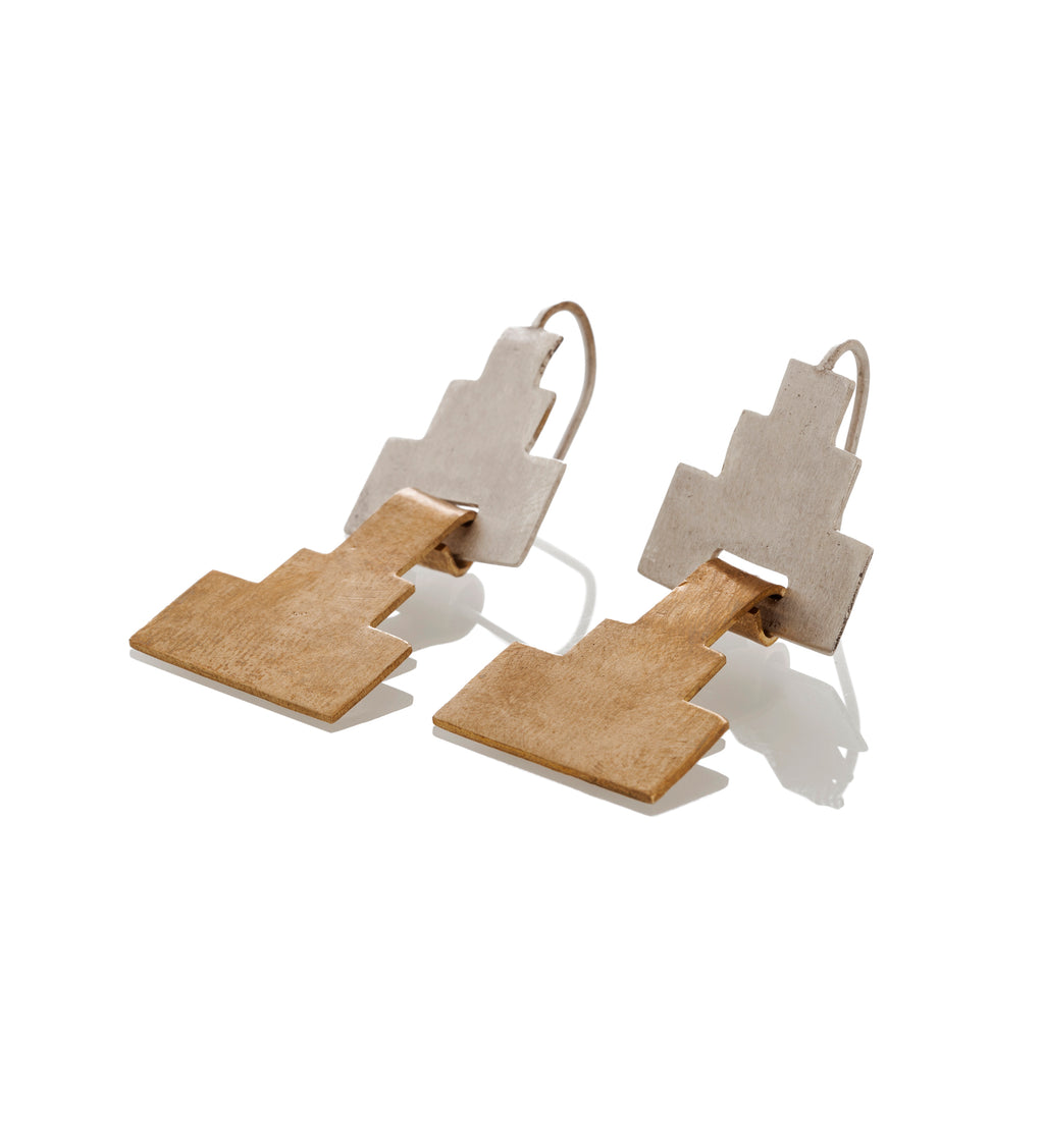 Grace/ Scarpa Double Earrings
