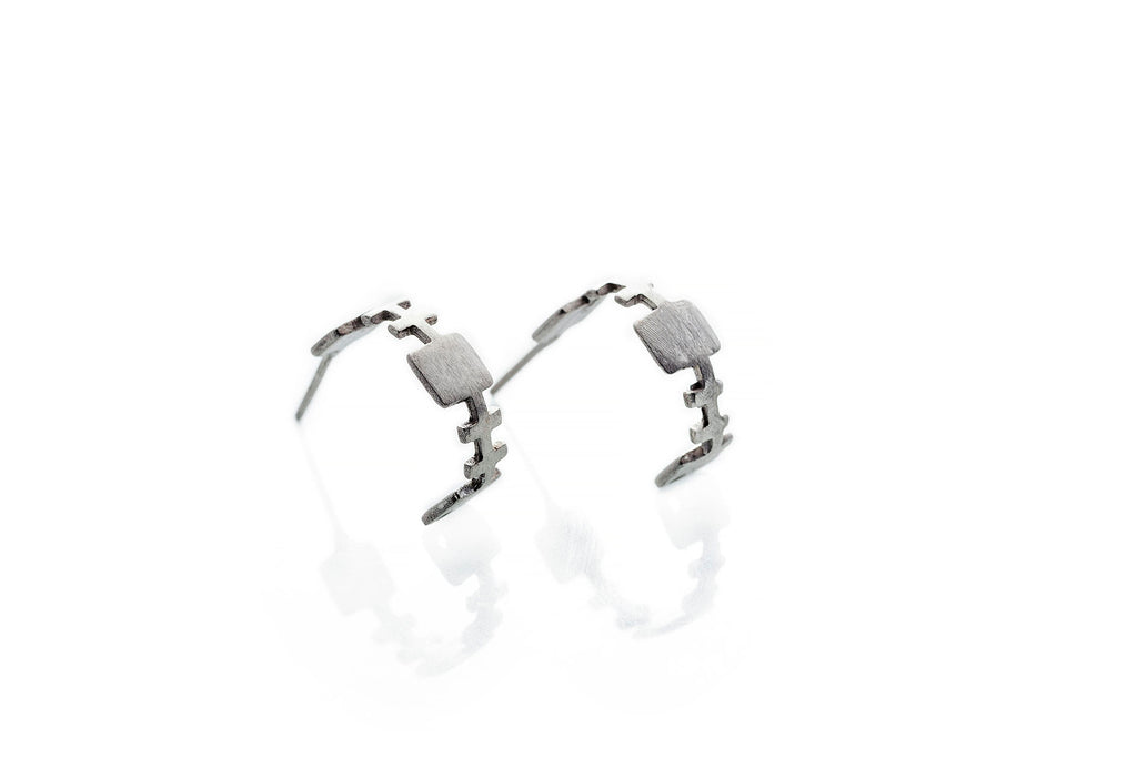 Involvement_ Silver Earrings