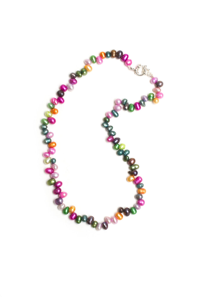 Claudia bright river pearls necklace
