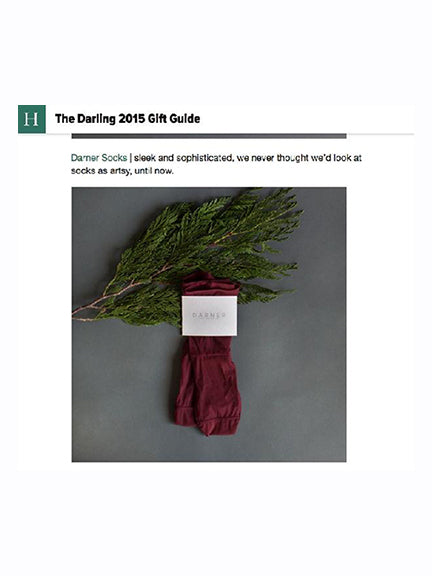 Darner in Huffington Post Gift Guide