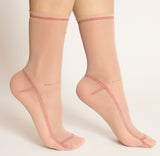 Darner Red Lined Mesh Socks - Darner Socks