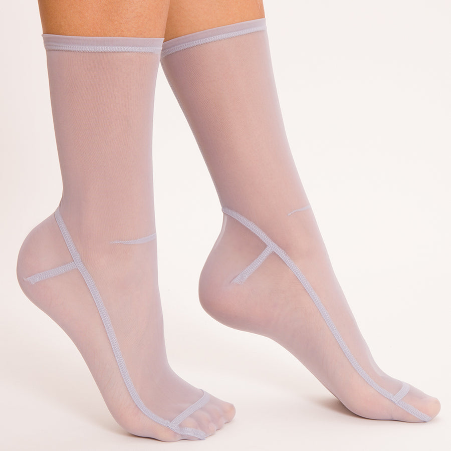 Darner Moon Mesh Socks