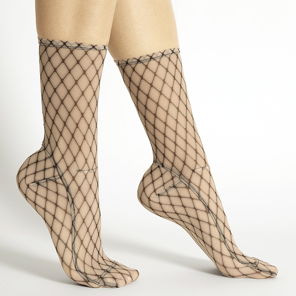 Darner Big Fishnet Mesh Socks - Darner Socks