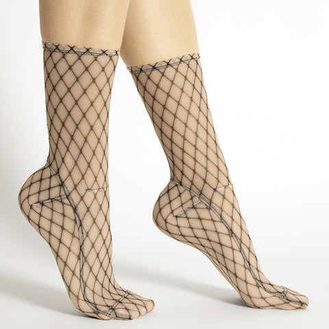 Darner Fishnet Big Mesh Socks - Darner Socks