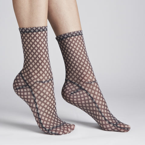 Darner Fishnet Mesh Socks