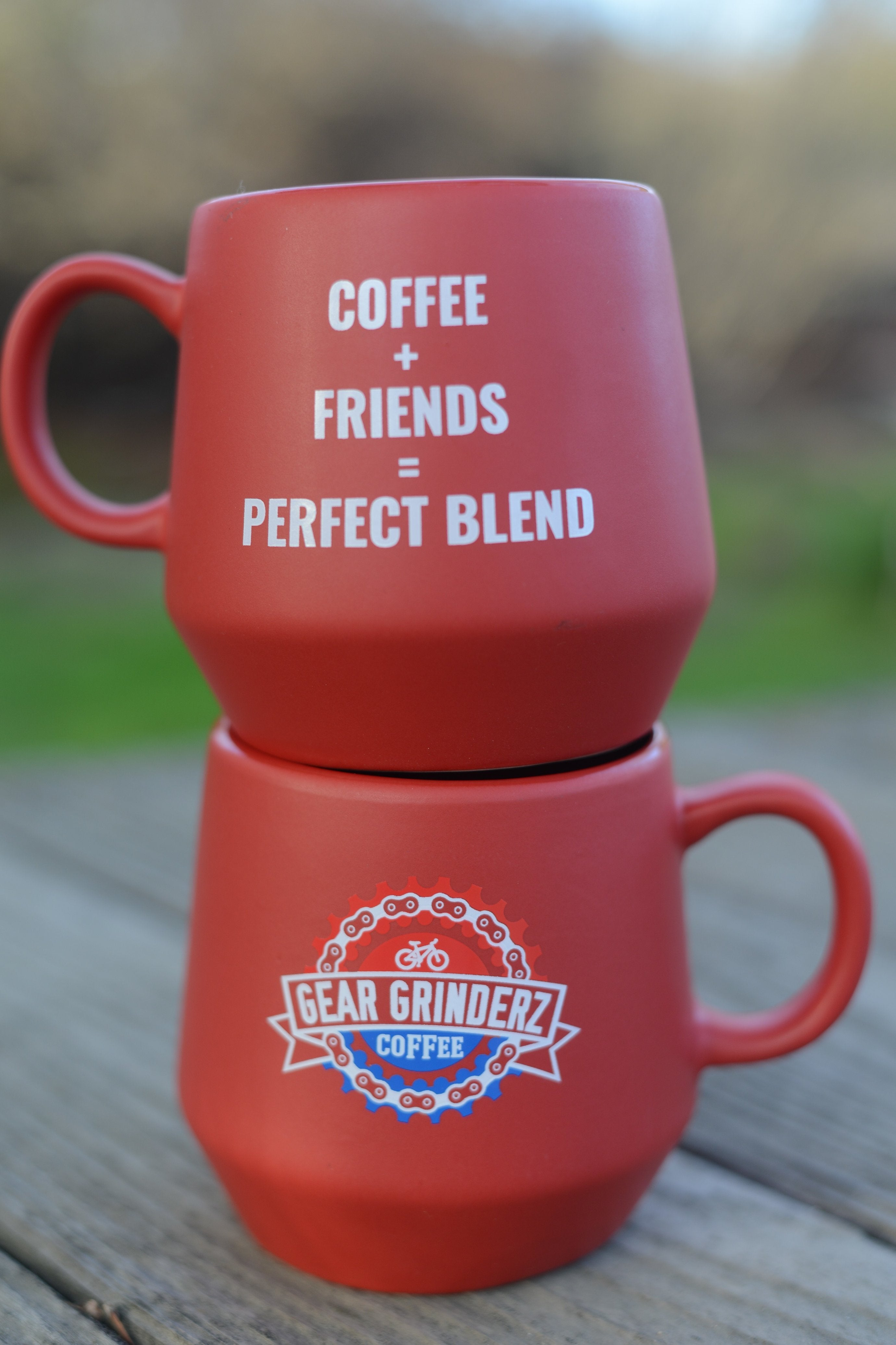 Gear Grinderz USA Holiday Mug - Gear Grinderz Coffee