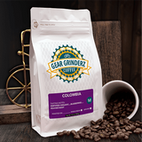 12 ounces of Gear Grinderz Coffee Fresh Roasted Organic Colombia Blend