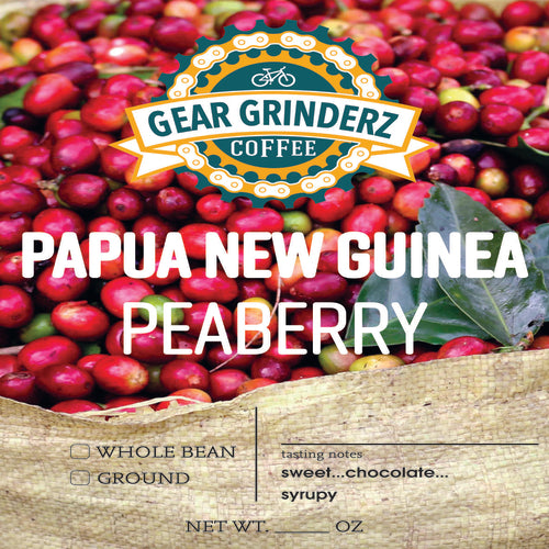 Papua New Guinea Peaberry - Gear Grinderz Coffee