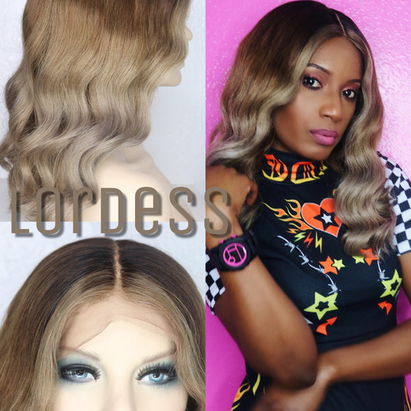 "16"" LORDESS CUSTOM COLOR UNIT - wig"