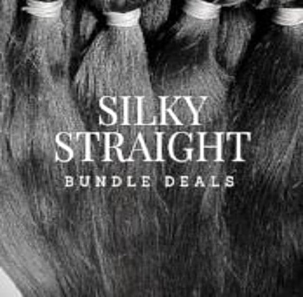 Silky Straight Bundle Deal - wig
