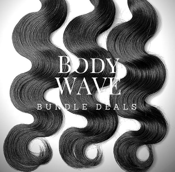Body Wave Bundle Deals - wig