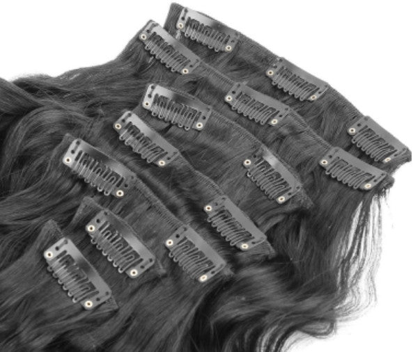 Loose Wave Clip Ins (7pcs) - wig