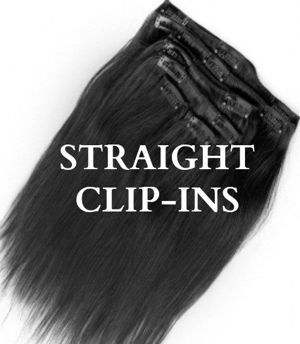 Straight Clip-Ins (10 pcs) - wig