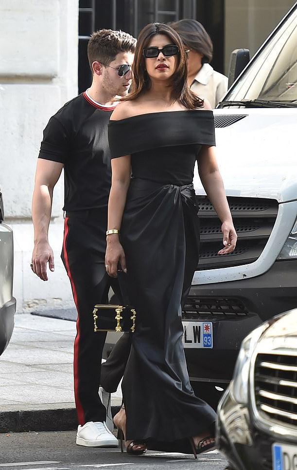 PRIYANKA CHOPRA IN ROSETTA GETTY RESORT 2020