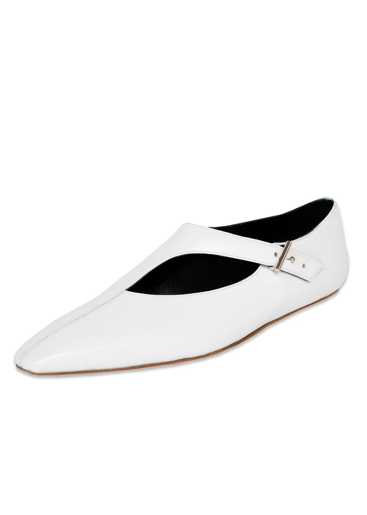 ASYMMETRIC CROSS STRAP FLAT