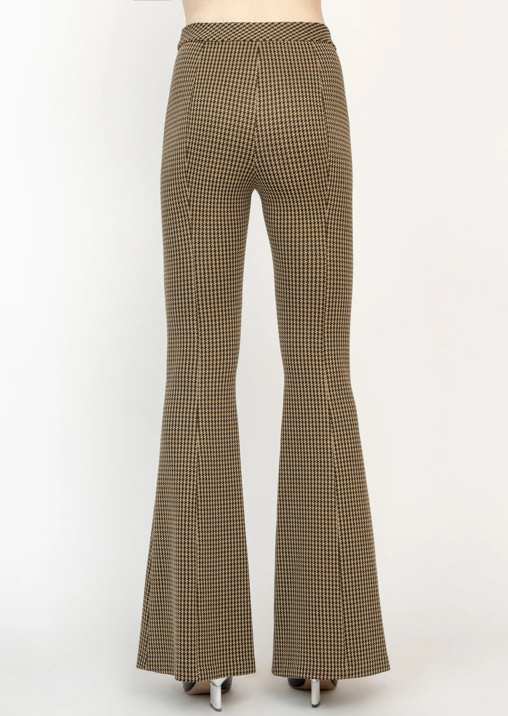 Pintuck Flared Pants