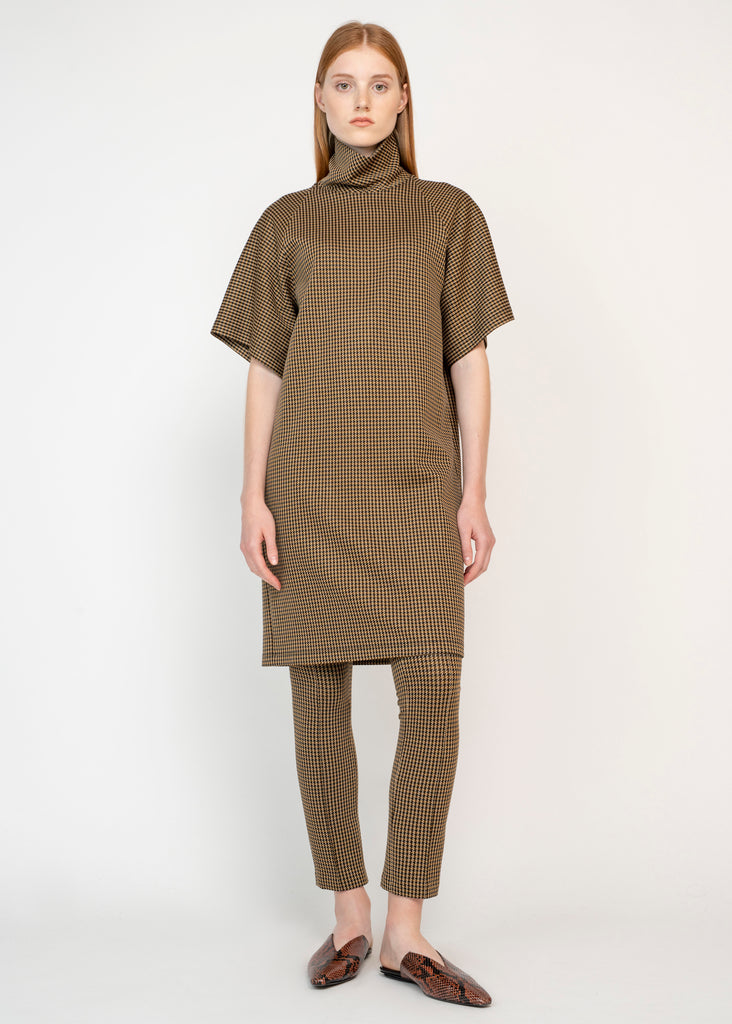 COCOON TURTLENECK DRESS