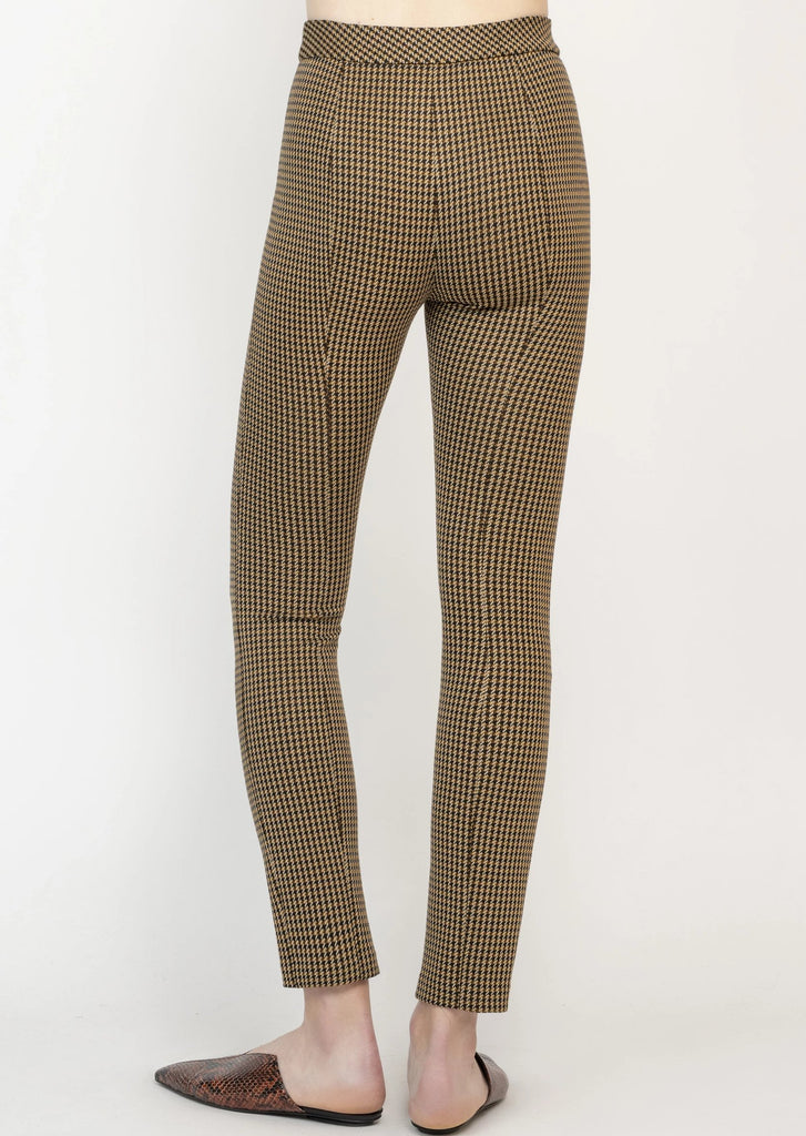 PINTUCK SKINNY PULL-ON PANTS