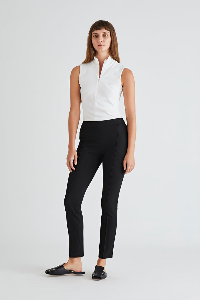 PINTUCK PULL ON PANT