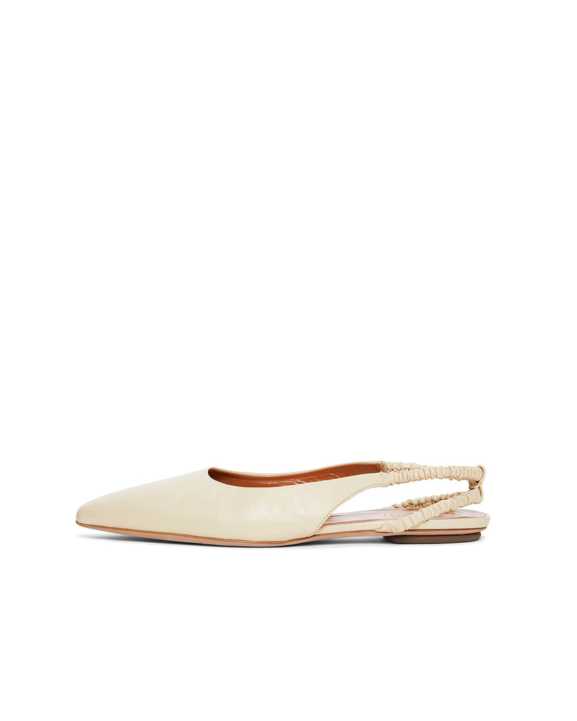 Ruched Slingback