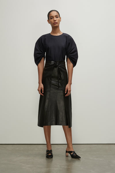APRON WRAP SKIRT