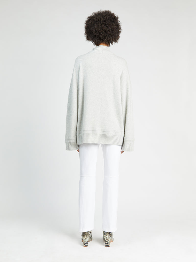 Oversized Turtleneck Pullover
