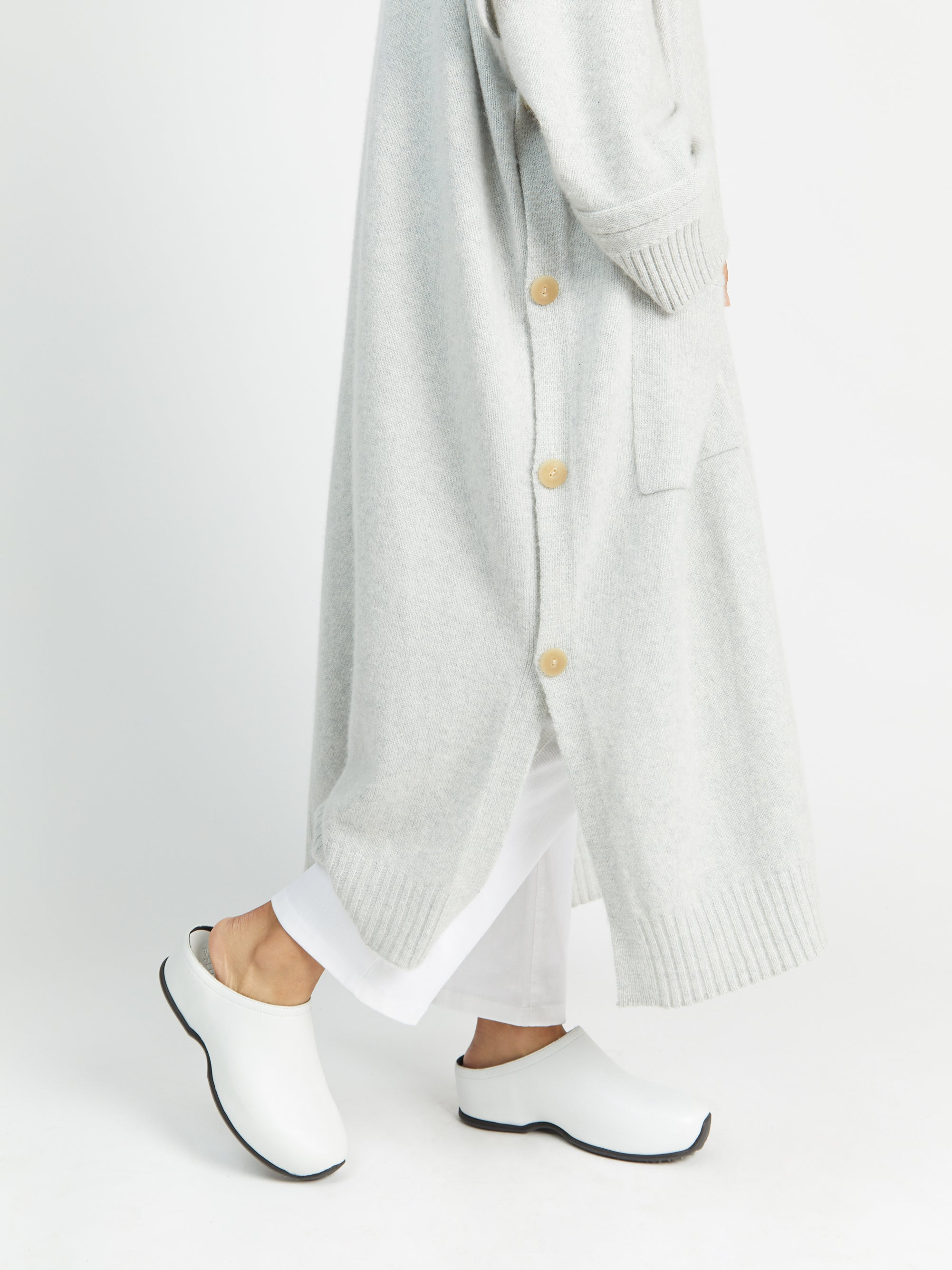 Hooded Cape Cardigan