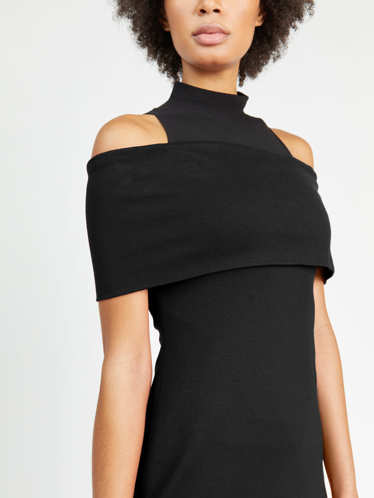 Banded Off-The-Shoulder Dress