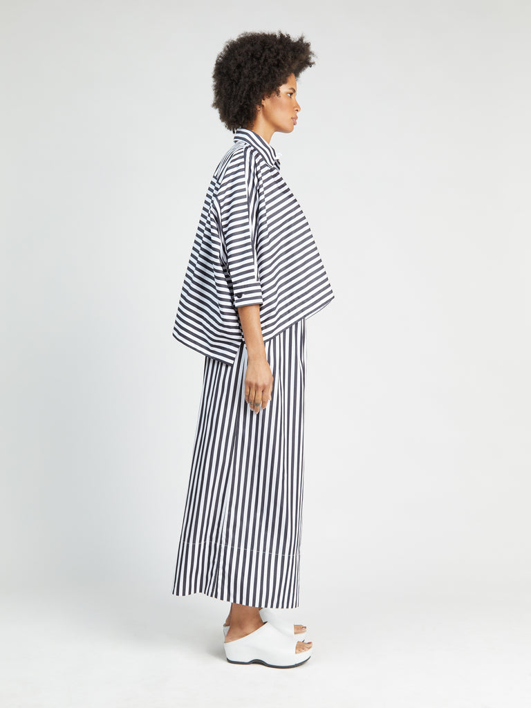 Cropped Caftan Shirt