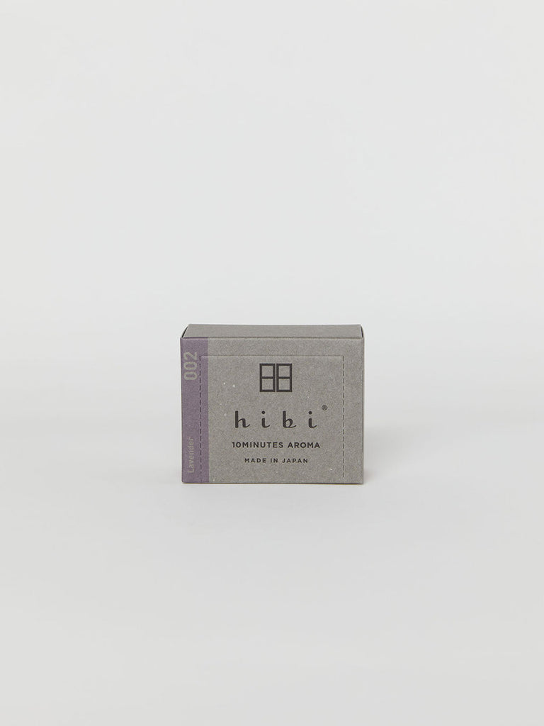 Hibi 10 Minute Aroma Matches – Box of 30: Lavender