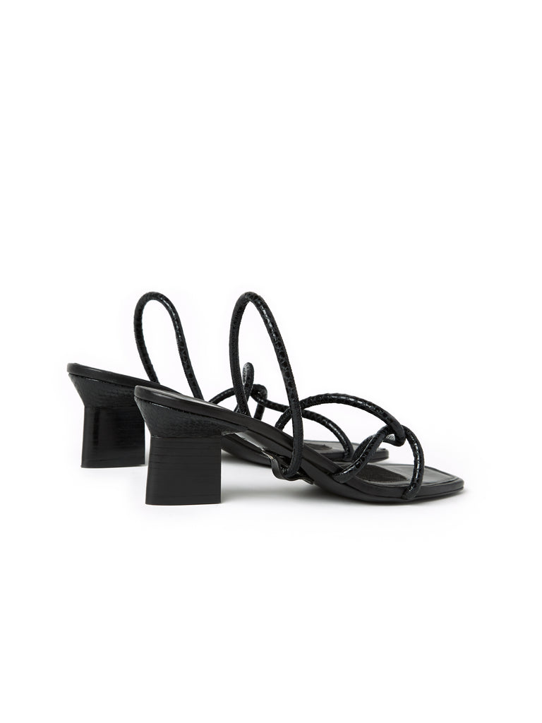 Strappy Heeled Slingbacks