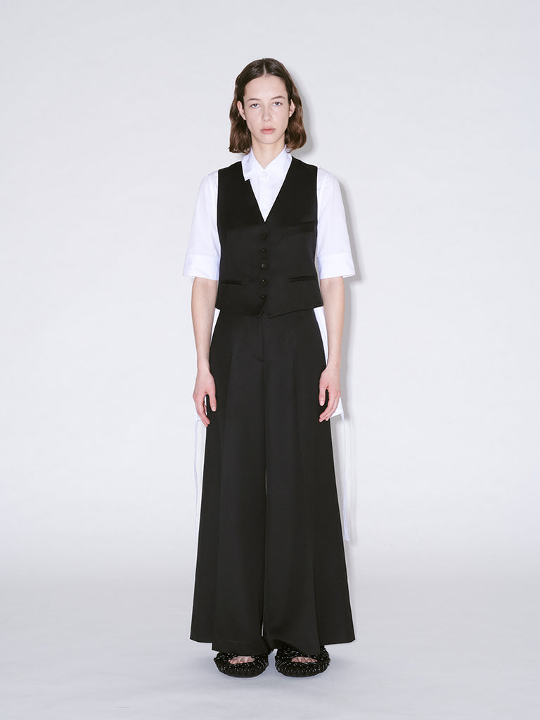 High Waisted Tailored Culottes